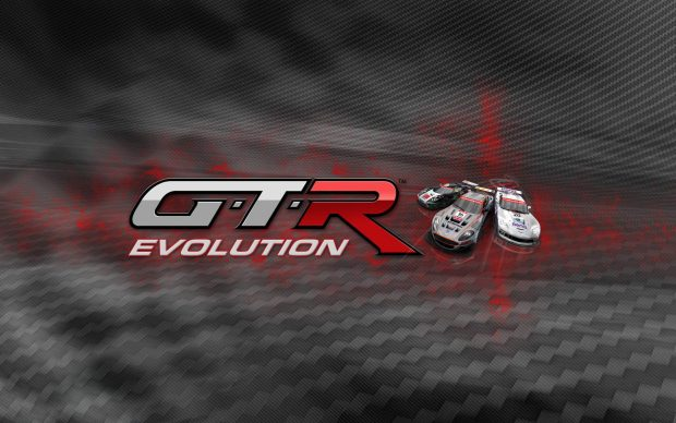 Gtr evolution logo widescreen wallpaper.