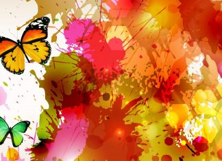 Hd Watercolor Art Abstract Butterfly Wallpapers.