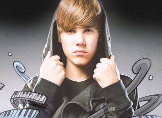 Justin Bieber Wide wallpaper HD.