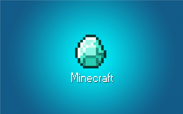 Minecraft Diamond Wallpaper HD.