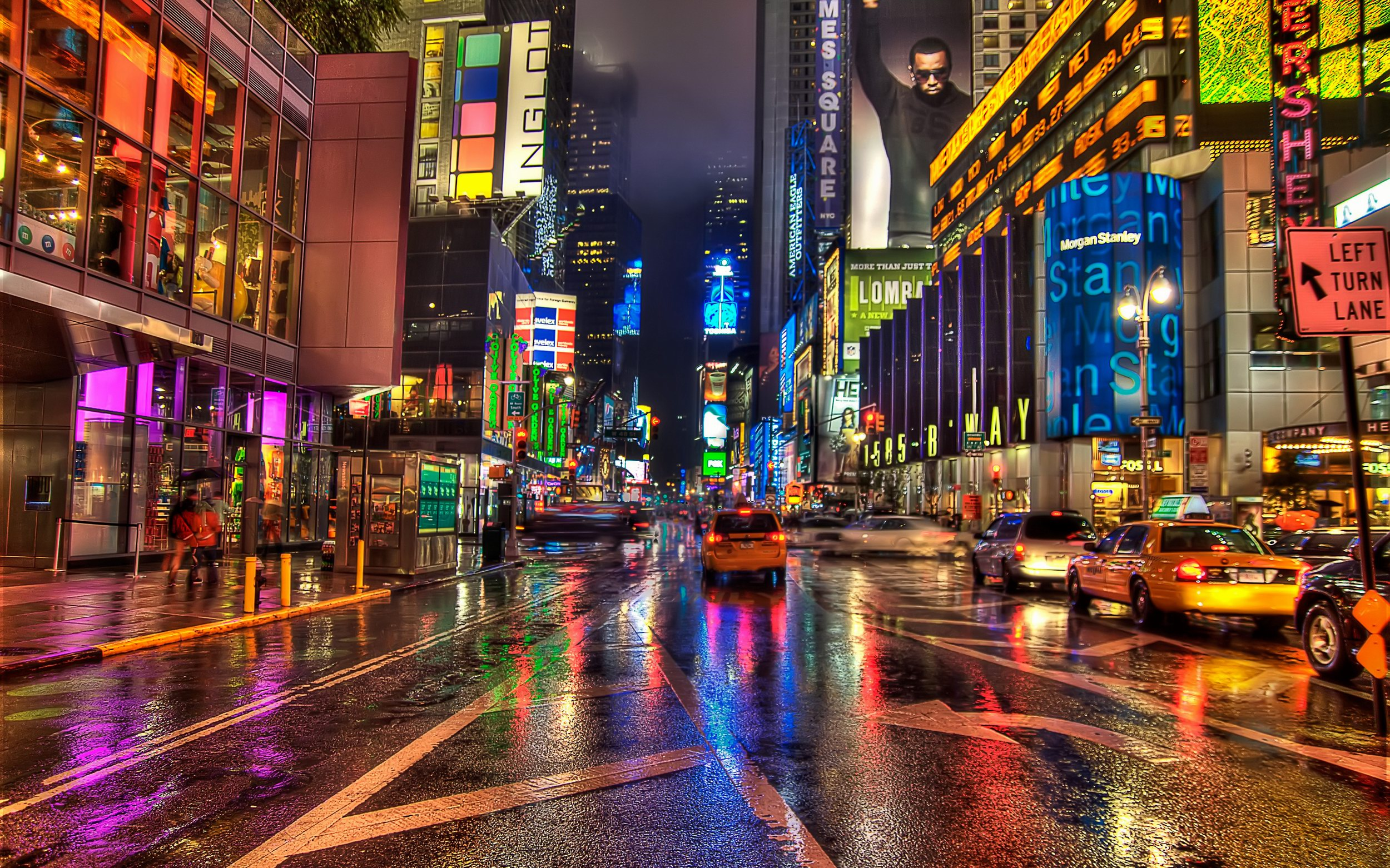 New York City Street Hd Wallpaper Pixelstalk Net