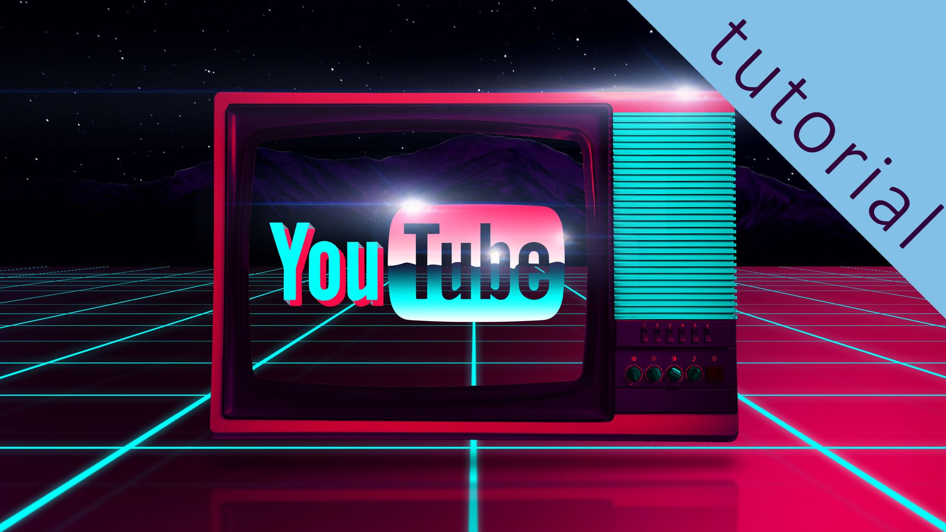how to get a youtube background