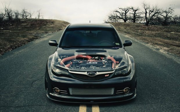 Subaru Impreza WRX STi Wallpaper.