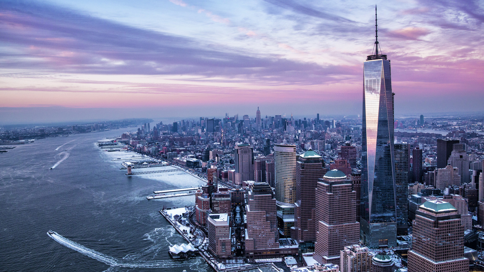 Winter In New York City Wallpaper