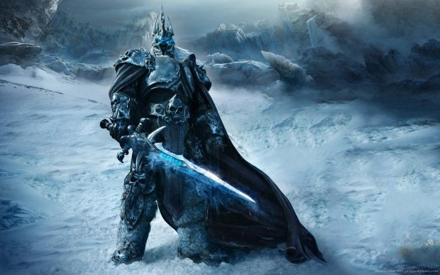 WoW Lich King for 1440x900 Wallpaper.