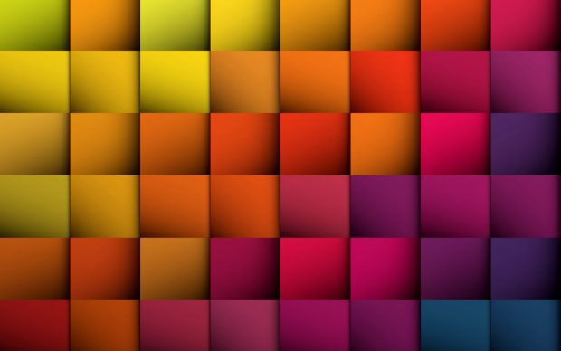 3D color checks walls HD wallpapers.