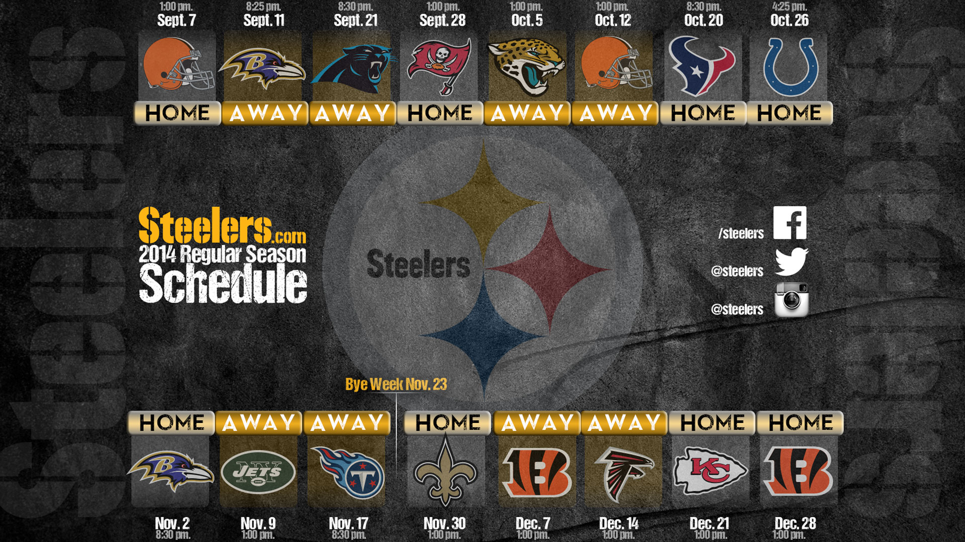 Backgrounds Pittsburgh Steelers Wallpaper HD.