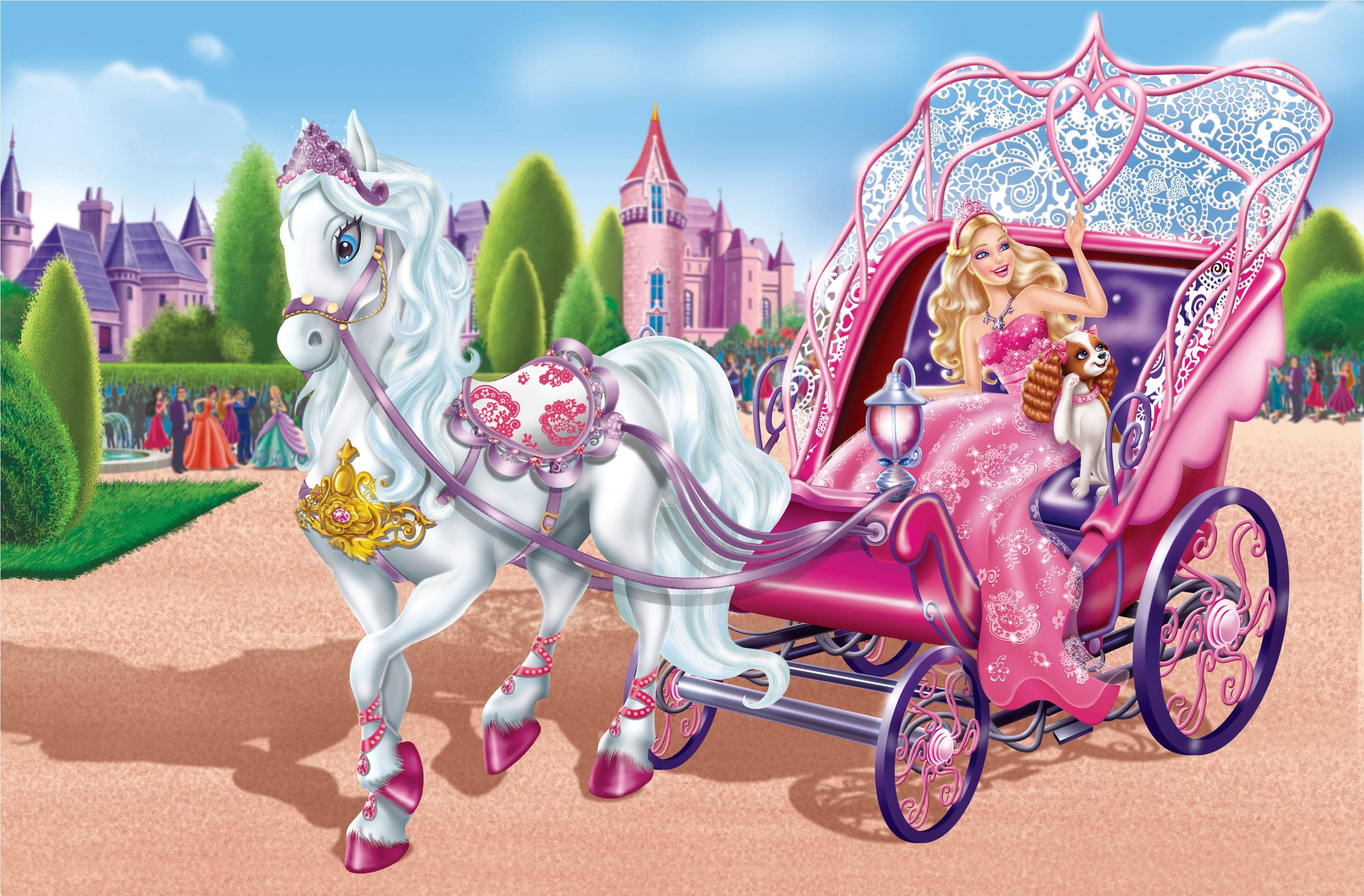 Barbie princess wallpapers impremedia doll wallpapers hd pixelstalk voltagebd Images