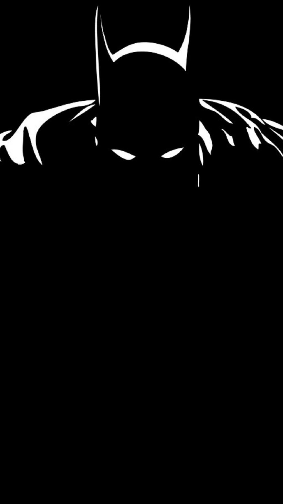 Batman Black And White Iphone Wallpaper