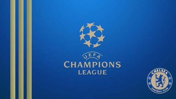 Chelsea champions league photos.