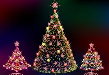 Christmas lights desktop Wallpapers HD photo images.