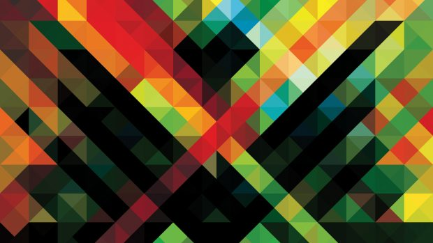 Creative Color Wallpaper Geometry Image HD Picture.