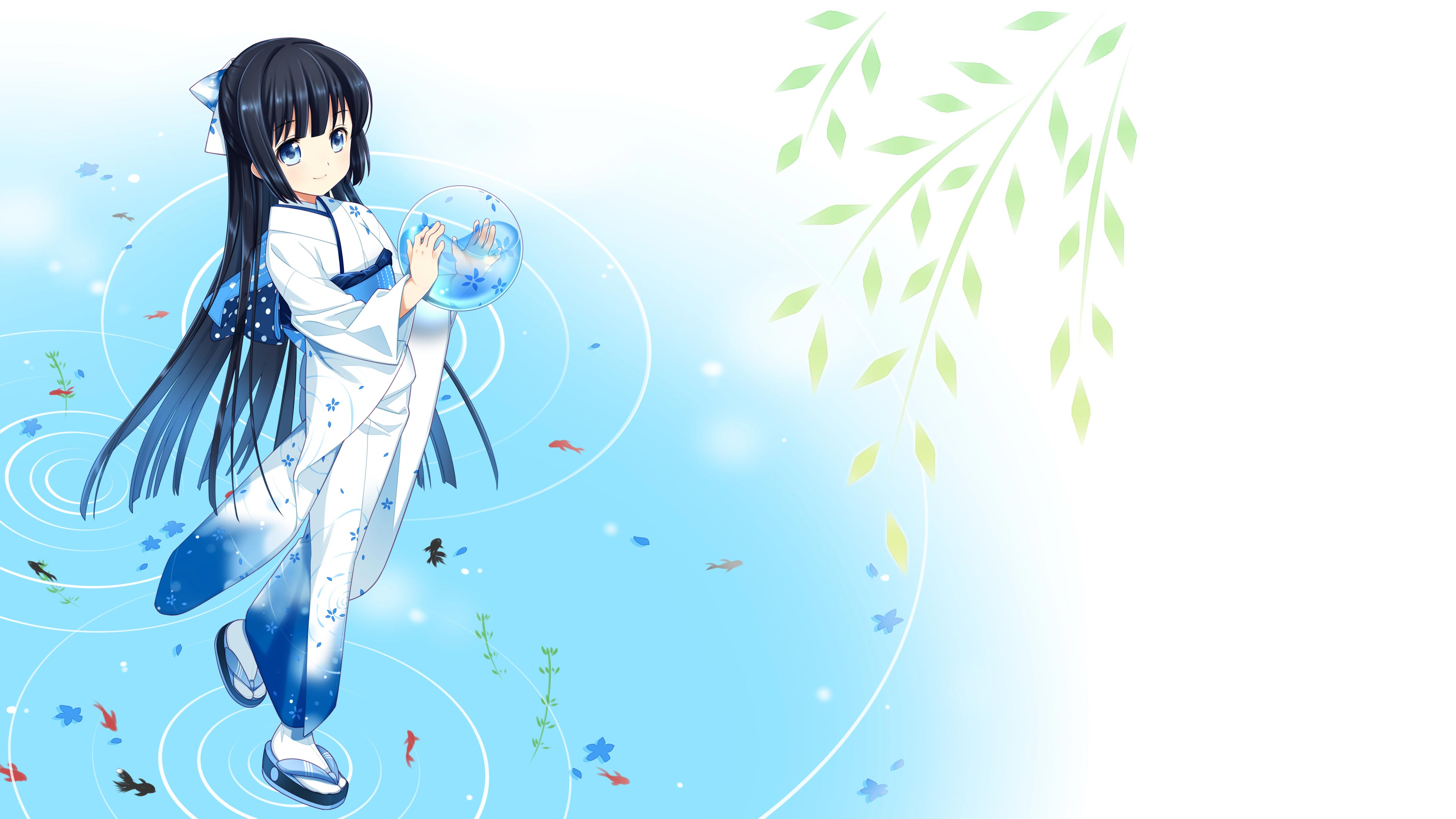 Anime girl wallpapers high resolution pixelstalk net - Cute anime girl pictures ...