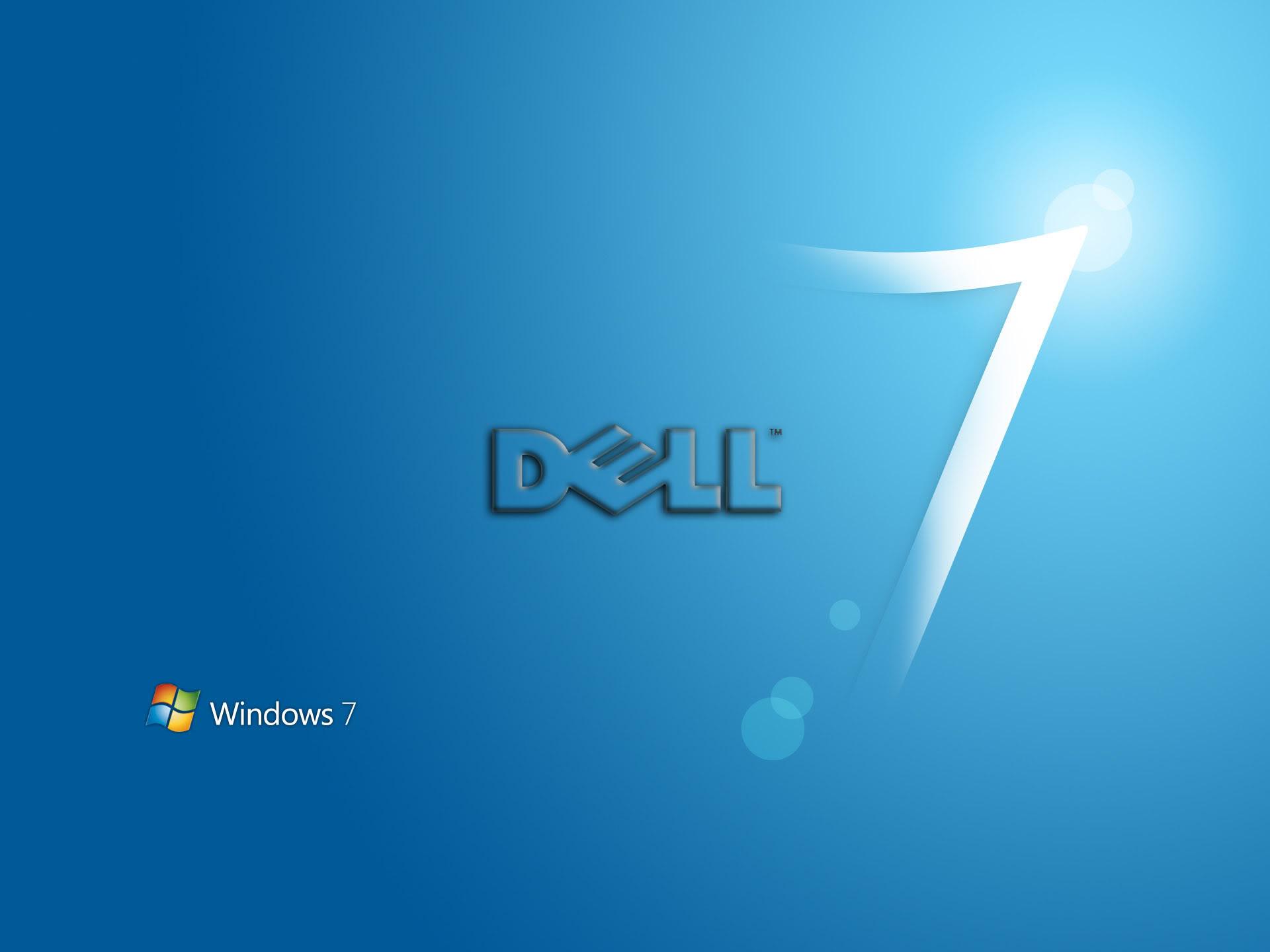 Dell Background Blue Wallpaper Hd