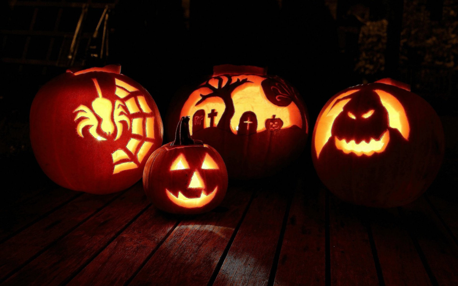 Desktop Halloween Pumpkin Backgrounds.