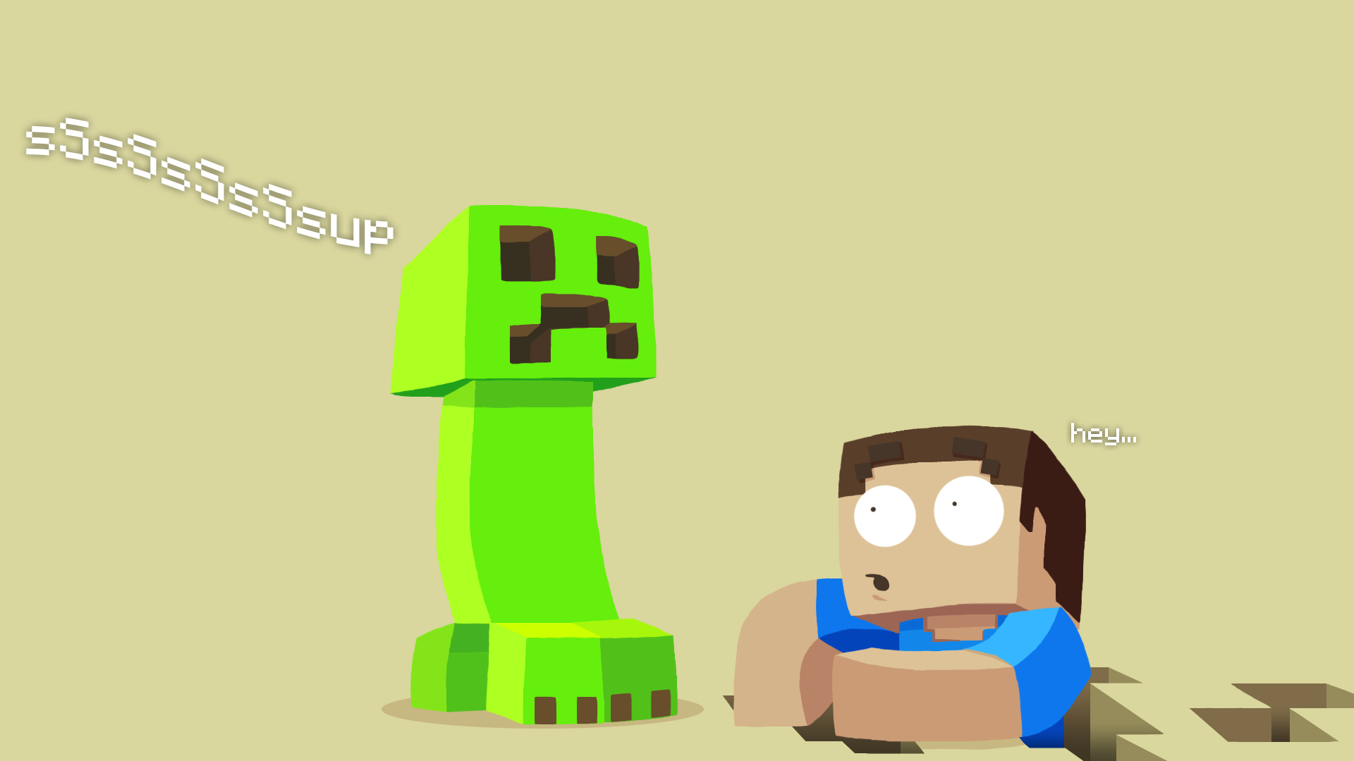Download Wallpaper Minecraft Soccer - Desktop-Minecraft-Pictures  Perfect Image Reference_452125.png