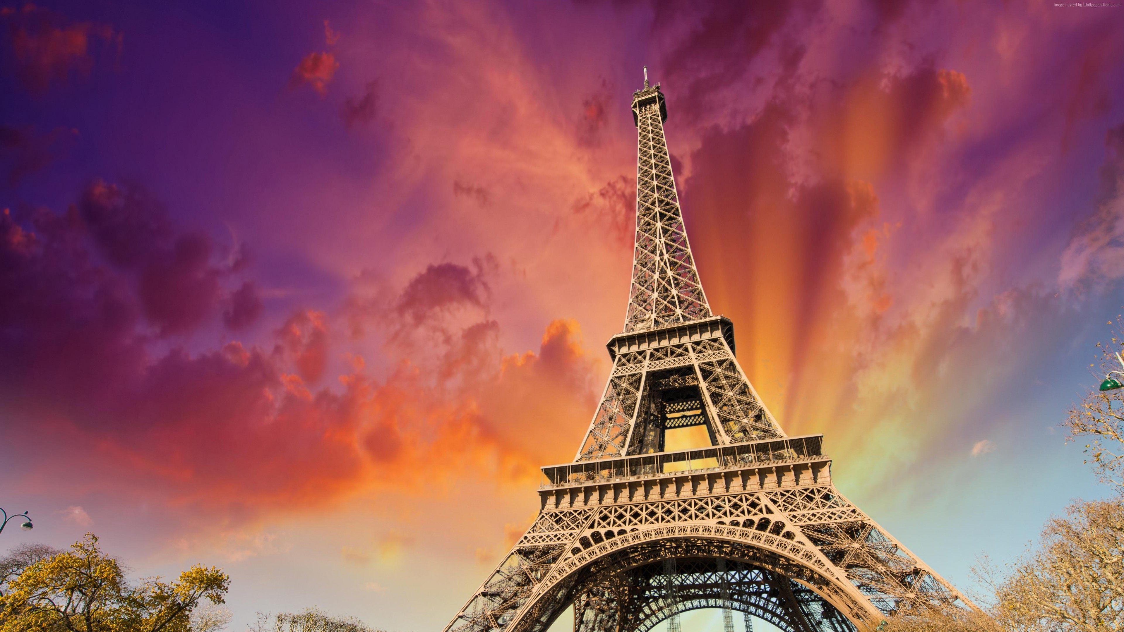 Hd Wallpapers Backgrounds: Eiffel Tower Wallpaper HD