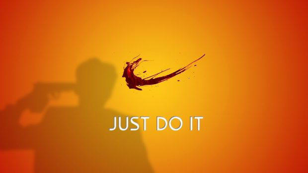 Do it just do it nike funny wallpaper.