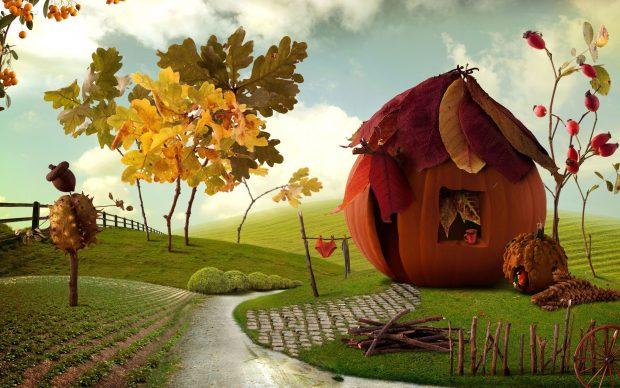 HD 3D Thanksgiving Backgrounds.