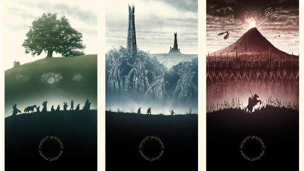 HD Lord Of The Rings Background.