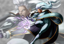 HD Storm X Men Comics Wallpaper.