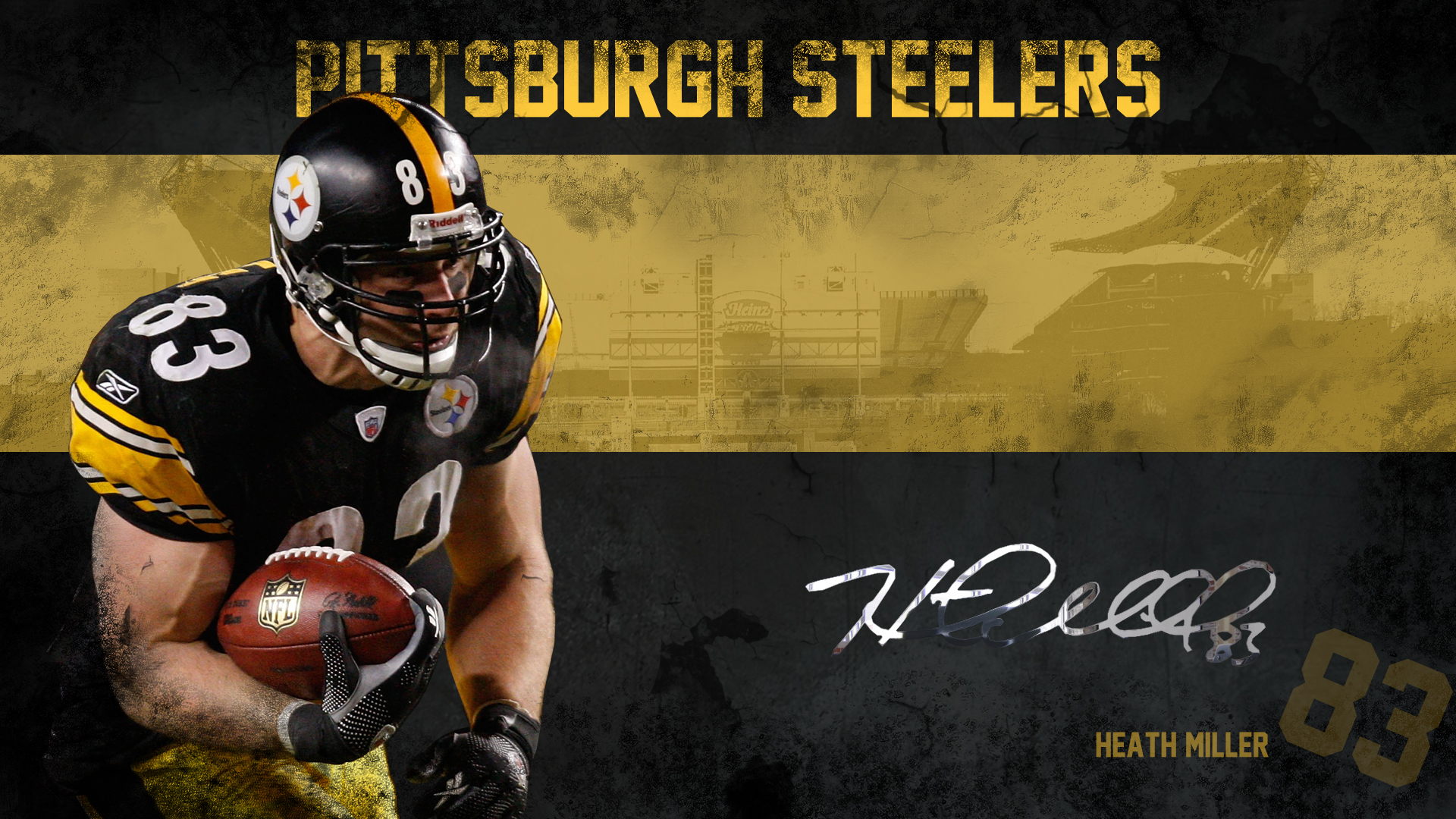 Heath Miller Wallpaper pittsburgh steelers 1920 1080.