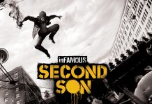 Infamous second son video game wallpaper.