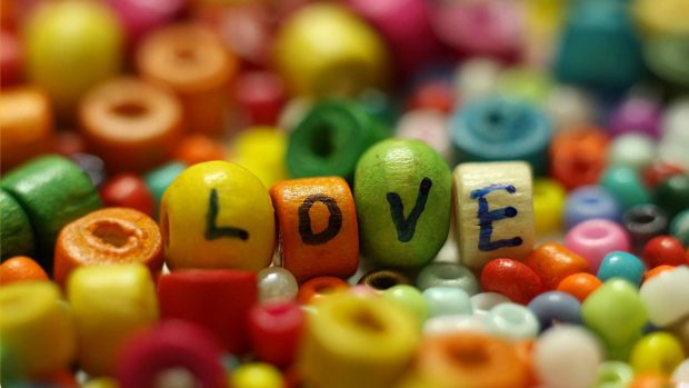 Love color background wallpaper HD.