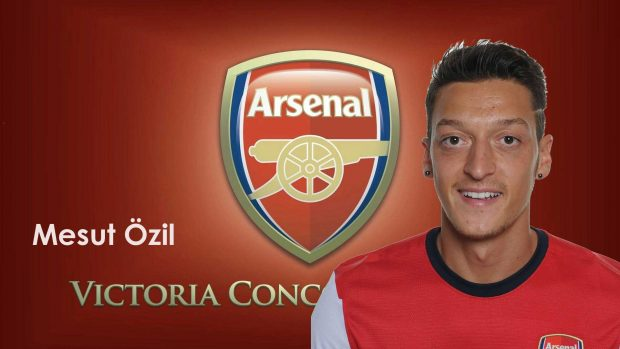 Mesut Ozil Arsenal HD Wallpaper.