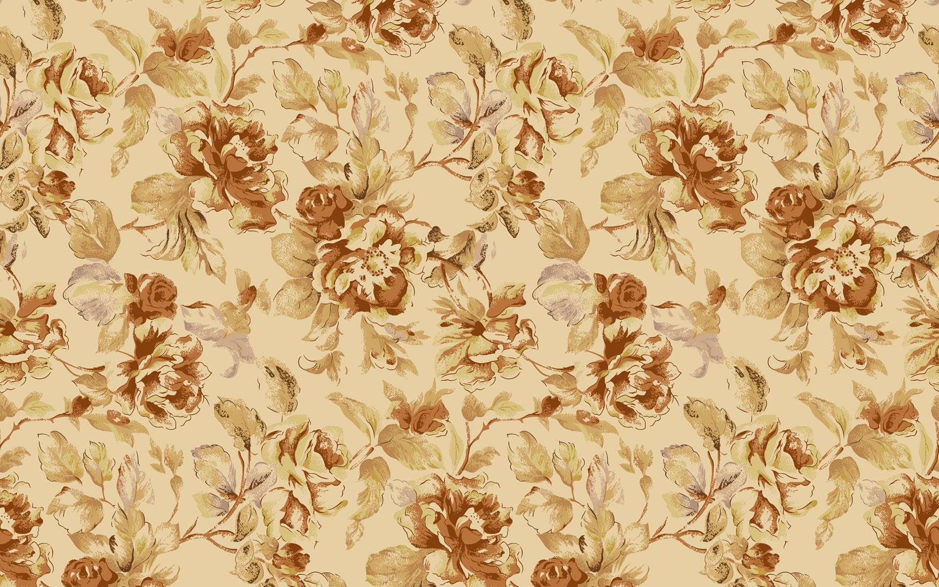 Vintage Floral Backgrounds For Desktop