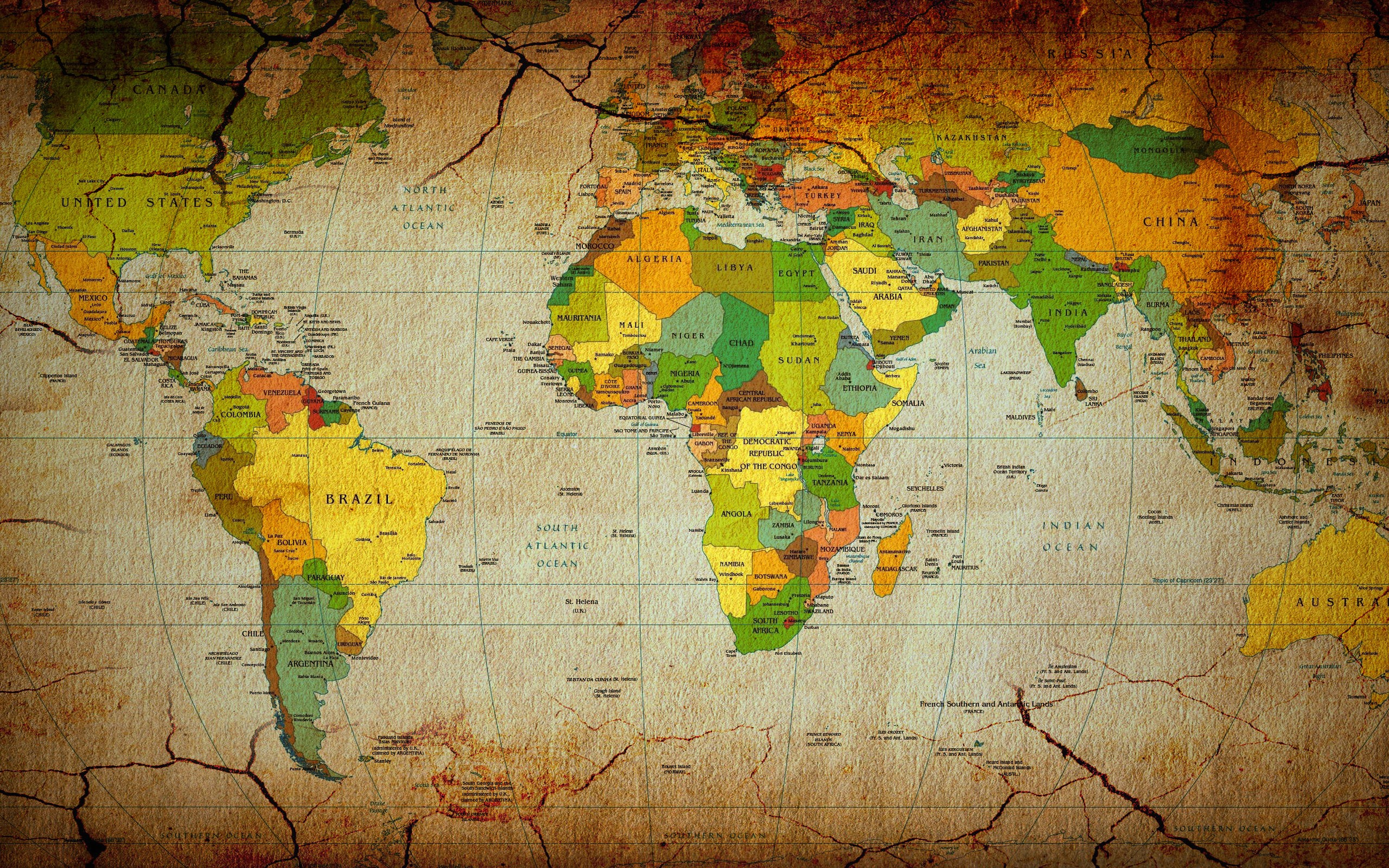 World map wallpaper HD .