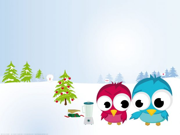 Cute Christmas Desktop Wallpaper.