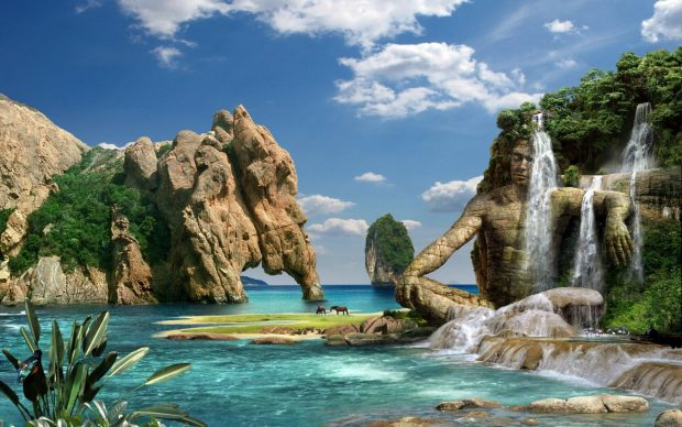 Free Download 3D HD Nature Backgrounds.