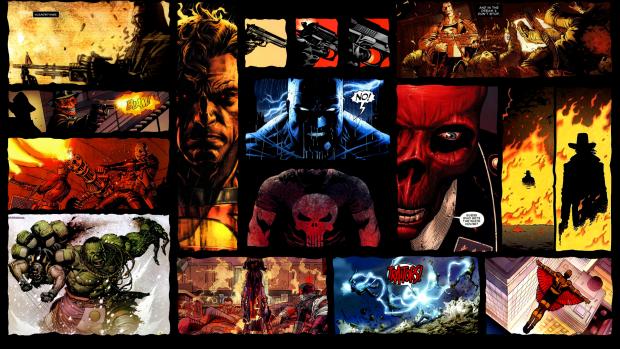 HD Comic Book Wallpaper.