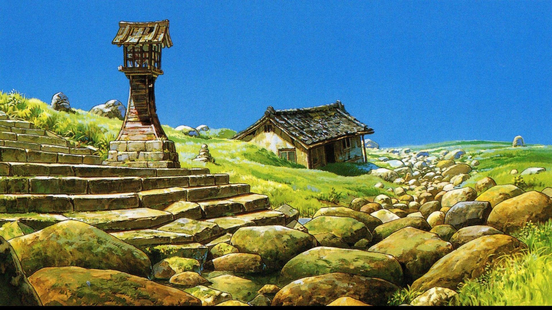 Studio Ghibli Wallpaper HD | PixelsTalk.Net