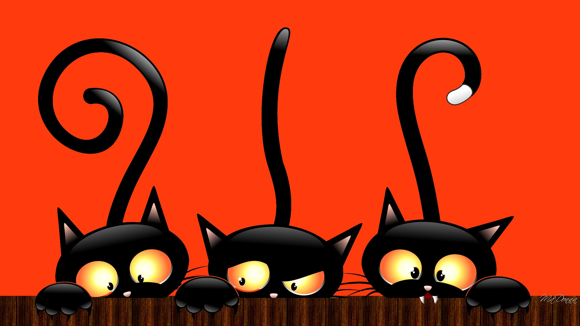 Full HD Hello Kitty Halloween Wallpaper.