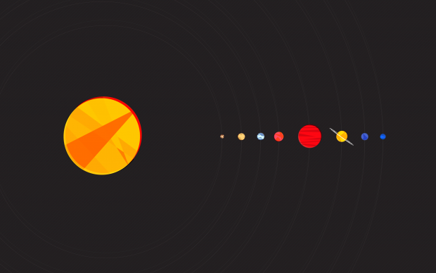 HD Solar System Wallpaper.