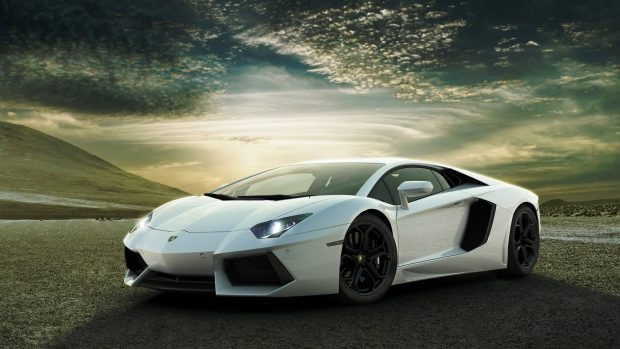 Lamborghini aventador lp hd widescreen nature of car images.