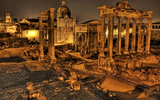 Ancient Rome Widescreeen Wallpaper.