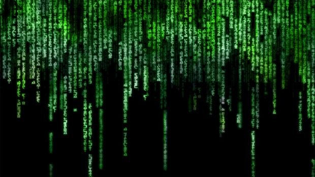 Animated Matrix Full HD Wallpaper.