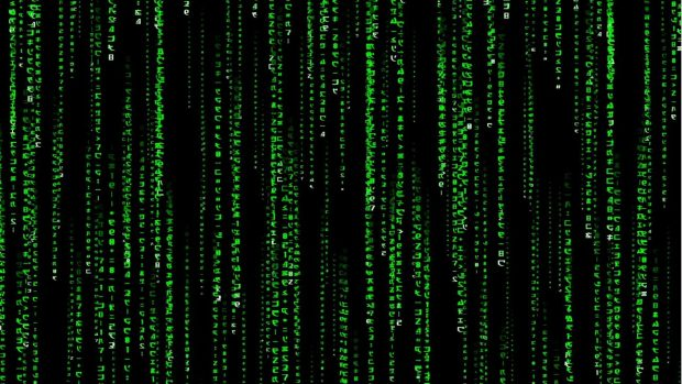Animated Matrix Wallpaper Full HD.