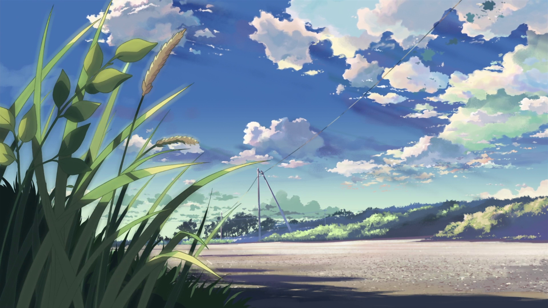 Anime Landscape Wallpaper HD