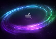 Apple mac space wallpaper.