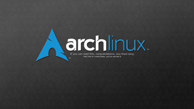 Arch Linux Desktop Wallpaper.