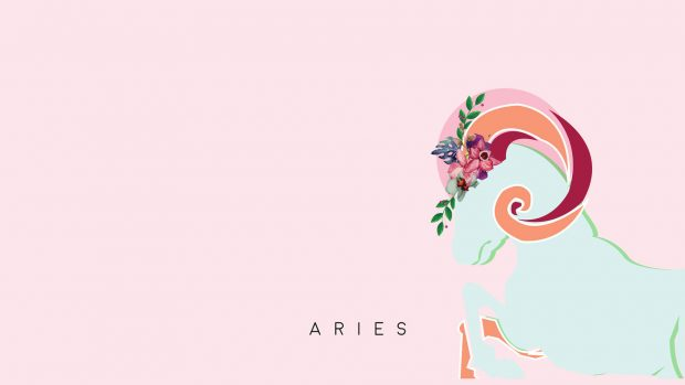 Aries Desktop Background.