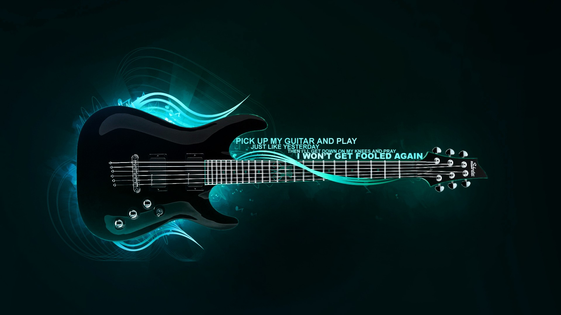 Awesome Bass Guitar 1920x1080