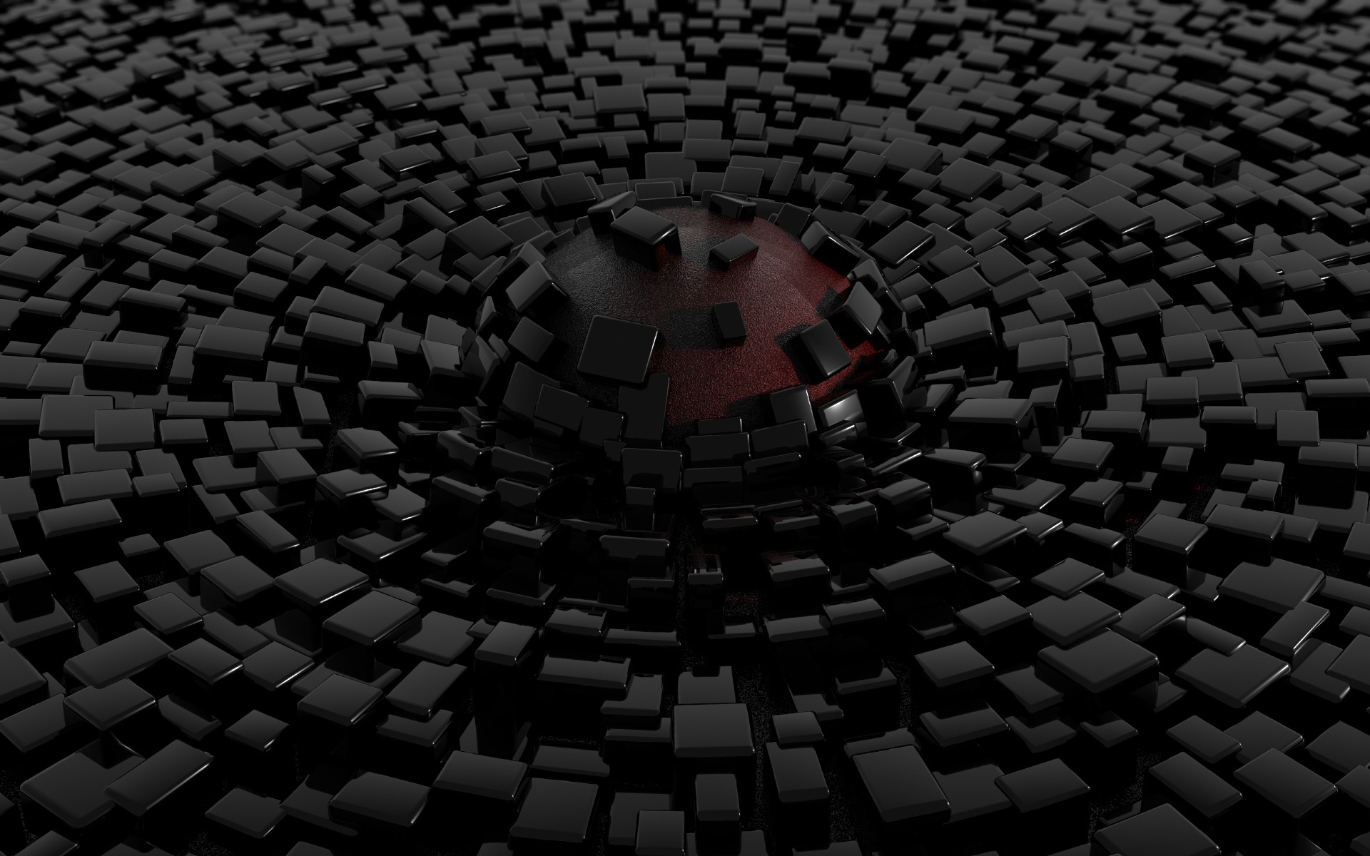 Black 3d wallpapers pixelstalk net for Black 3d wallpaper
