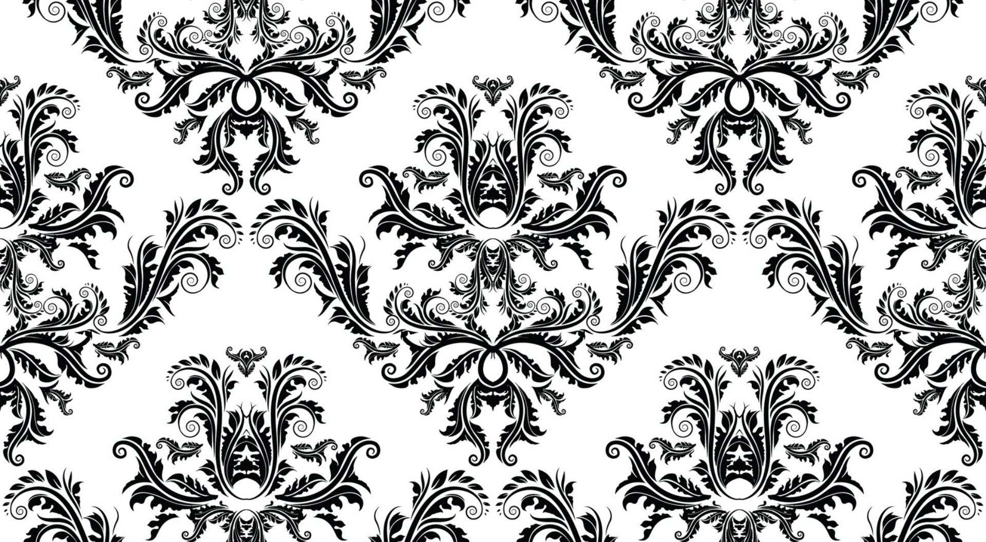Black And White Pattern Hd Wallpaper