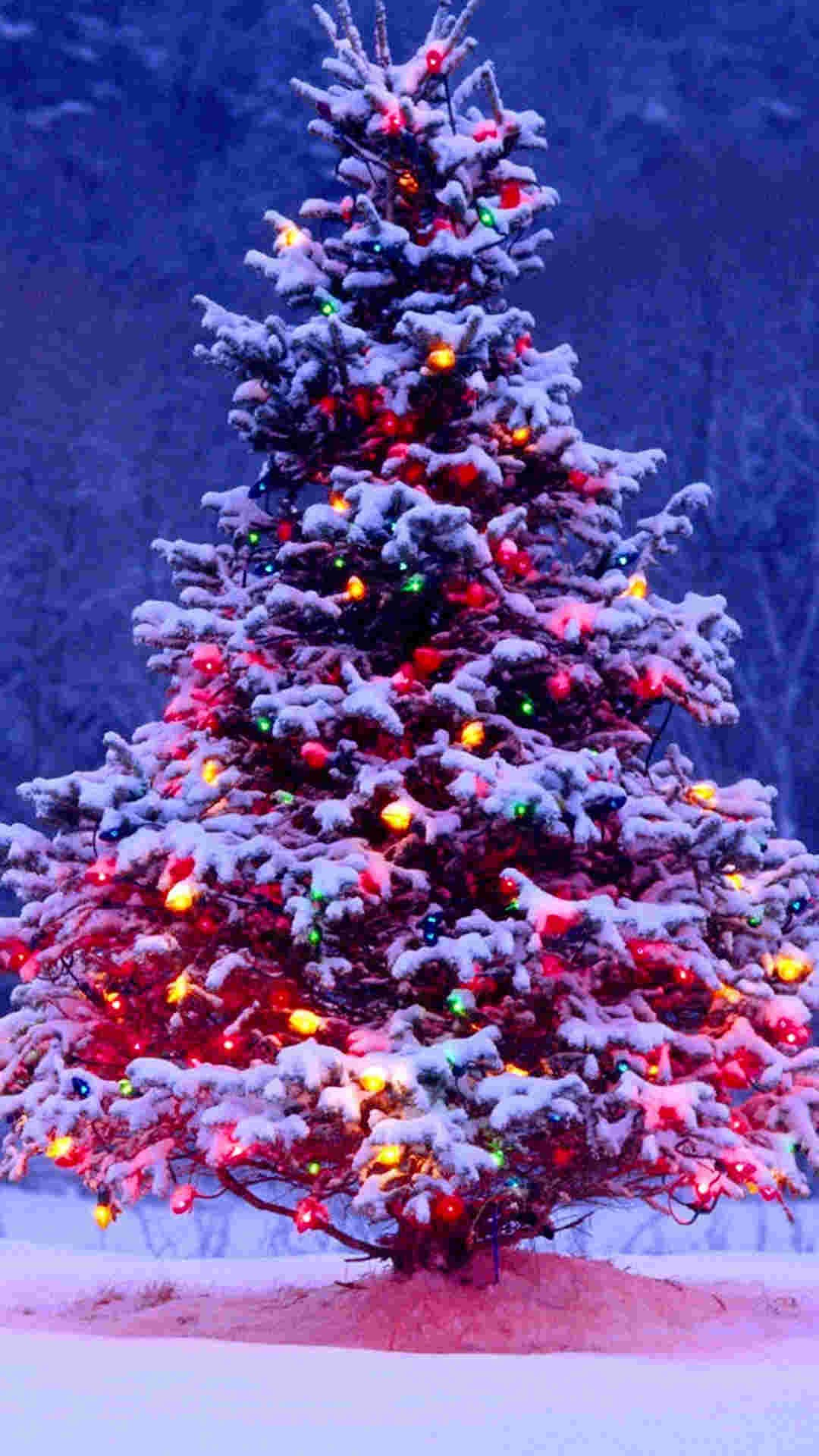 christmas lights iphone wallpapers 1080x1920
