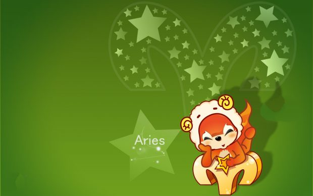 Cute Aries Background.